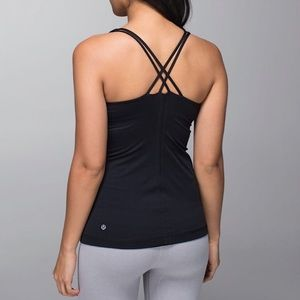 Lululemon Free to Be Tank In Black Size Size 4